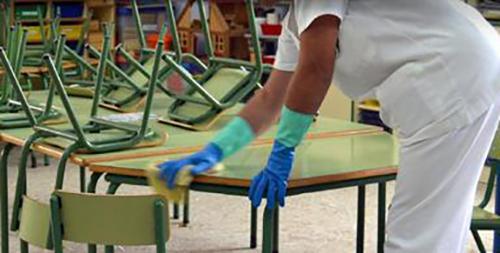 CHA muestra su solidaridad con las trabajadoras del servicio de limpieza de Samianigo