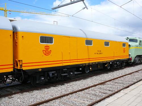 El próximo viaje del Tren Azul realizará el trayecto Casetas–Zumárraga