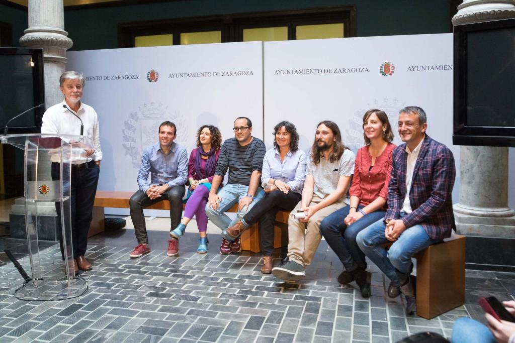 Zaragoza en Común realiza el balance de su gestión política en la primera parte de la legislatura