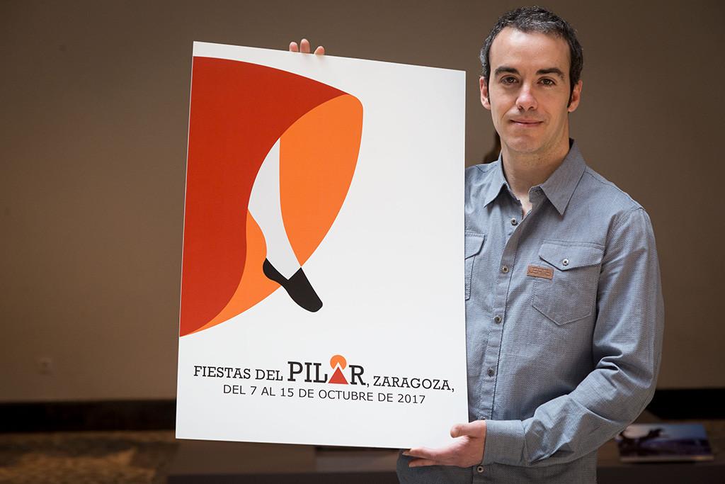 """""""A la J, Jota"""" es el título del cartel ganador de las Fiestas del Pilar 2017"""