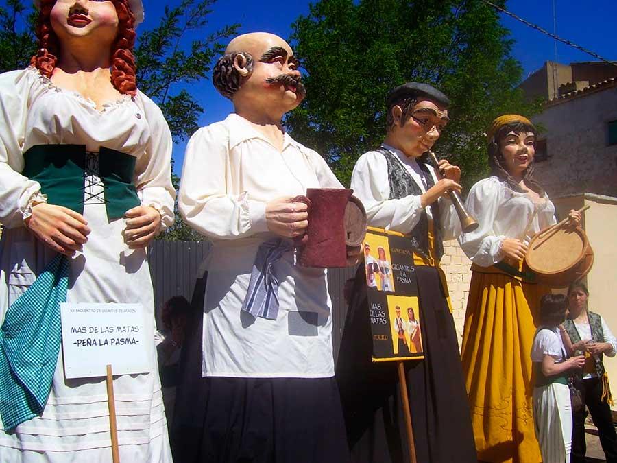 El XVII Encuentro de Gigantes reunirá en Teruel a 123 gigantes de todo Aragón