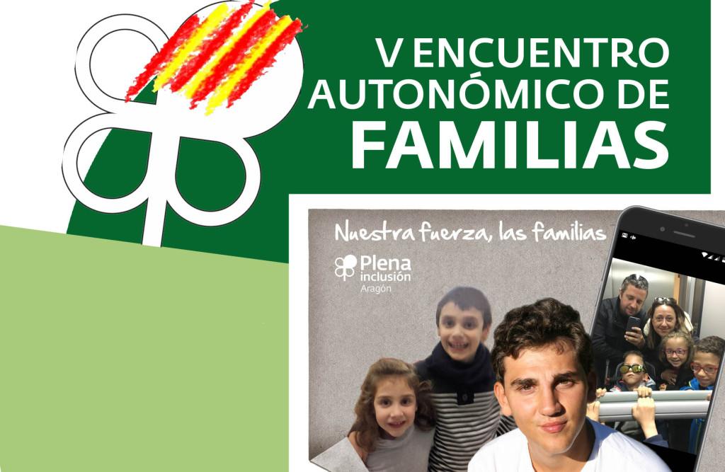 Zaragoza celebra, el 10 de junio, el V Encuentro aragonés de familias de personas con discapacidad intelectual