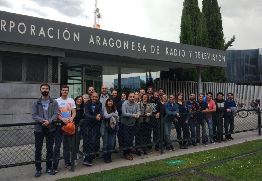 El Comité de Empresa de TSA Aragón amplía la huelga durante la Ofrenda de Flores y Rosario de Cristal