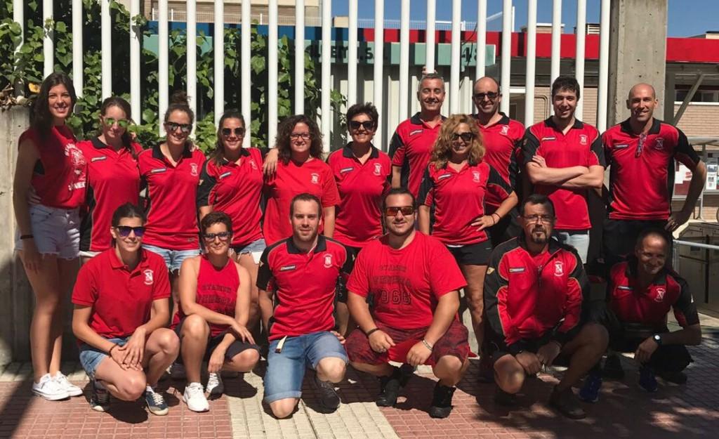 Doblete del stadium venecia en el campeonato de arag n en for Piscina 50 metros barcelona