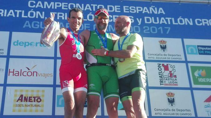 Medalla de Plata para Jesús Sánchez en el Campeonato estatal de Triatlón Cross