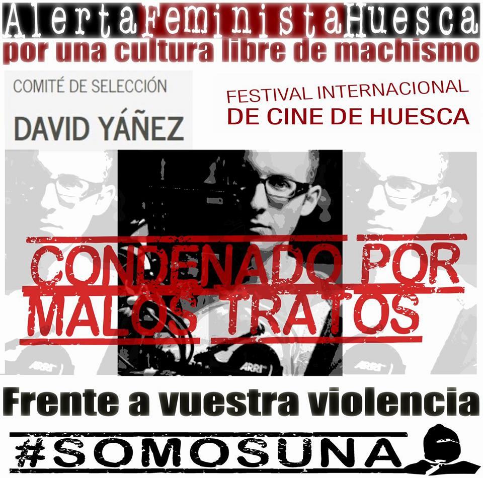 El Festival Internacional de cine de Uesca excluye a David Yáñez de la programación
