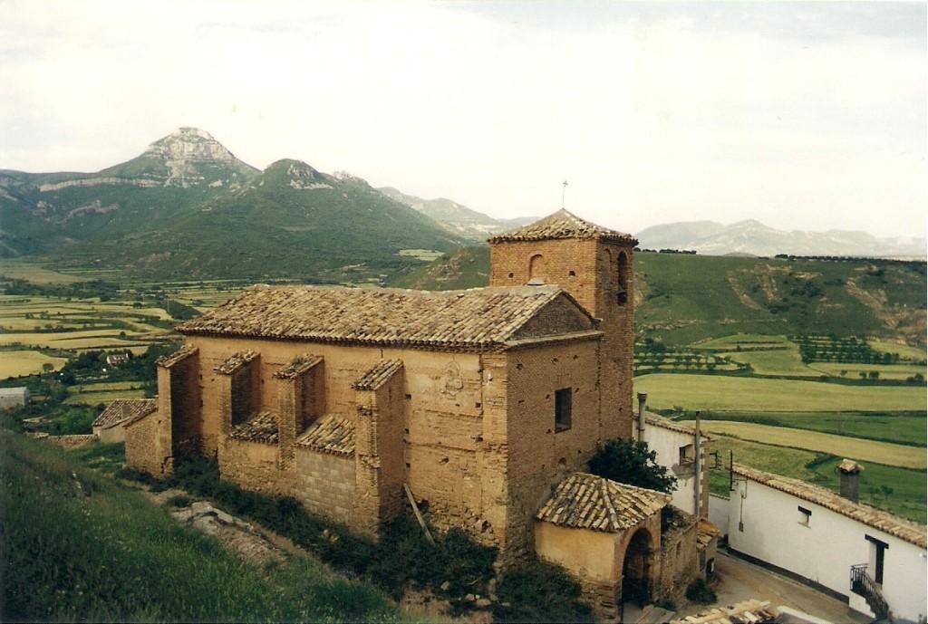 Apudepa denuncia el abandono de la iglesia de Puibolea y exige medidas de conservación