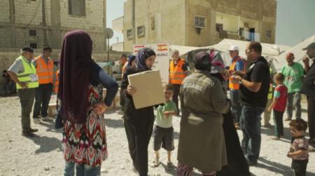 El Centro Cívico Distrito 14 acoge el estreno del documental 'Refugiados, los invisibles de la Beqaa'