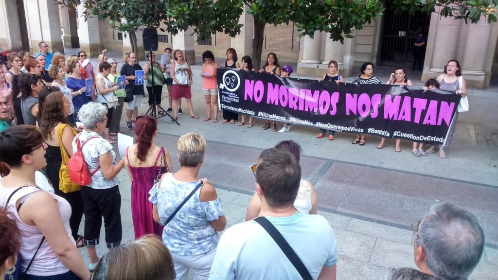 IU Aragón y CHA condenan el asesinato de una mujer en Zaragoza y llaman a la movilización social contra el terrorismo machista