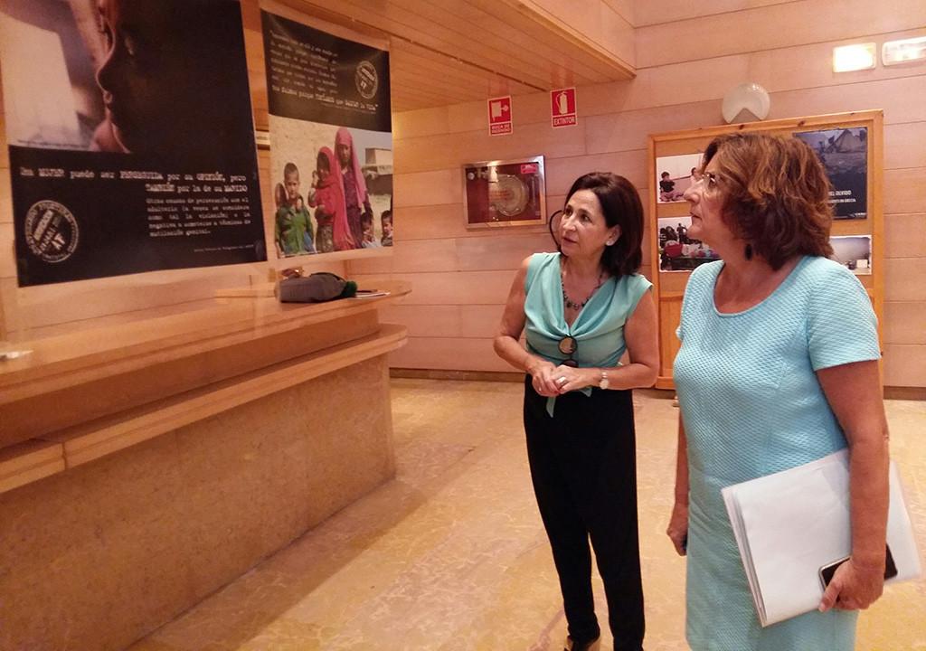 Broto reclama al Gobierno español «más compromiso y solidaridad» con las personas refugiadas