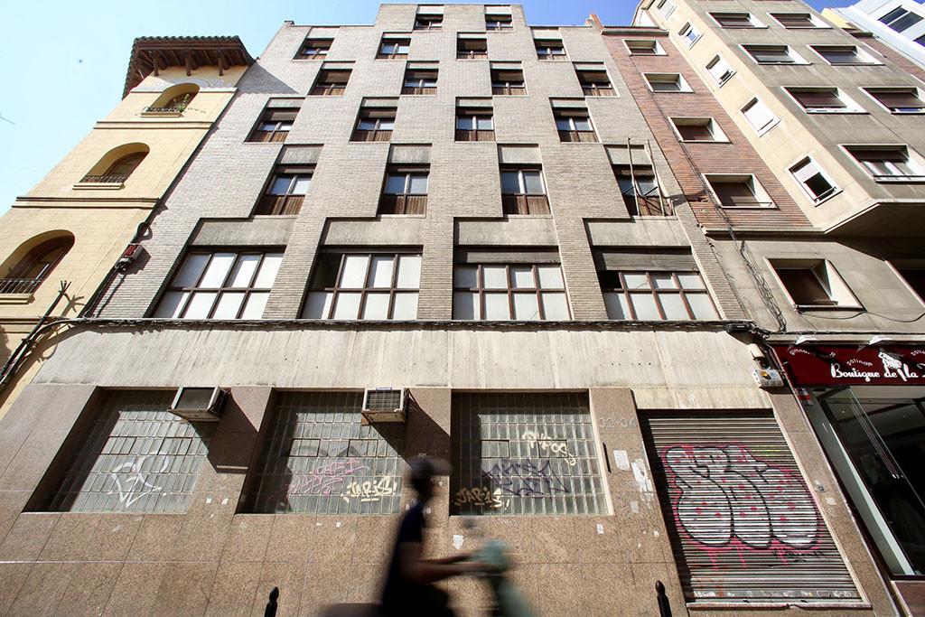 El Ayuntamiento de Zaragoza venderá a la MAZ el edificio del antiguo Conservatorio de Música por 2,2 millones
