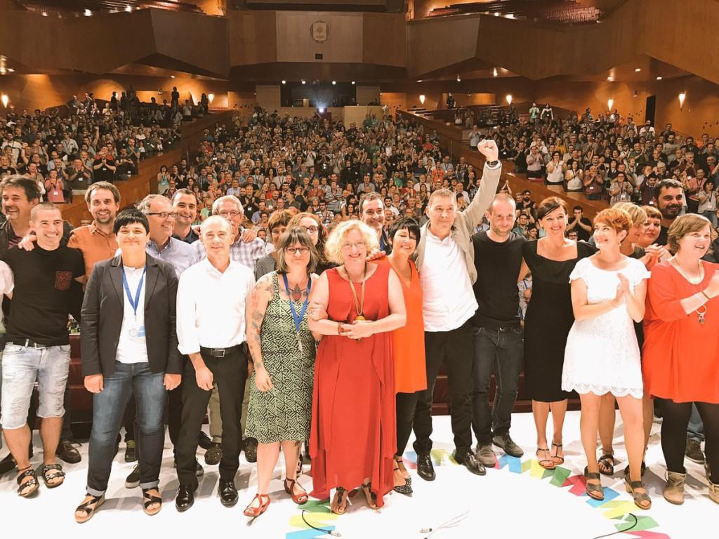 """Otegi: """"Somos abertzales, somos de izquierda y una alternativa viable de cambio en Euskal Herria"""""""