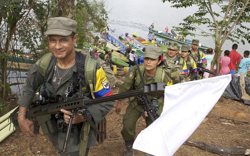 Jornada histórica para la paz en Colombia