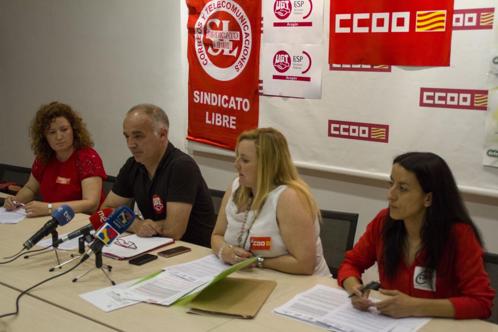 Los sindicatos no descartan la huelga general en Correos si se mantiene el recorte en la financiación