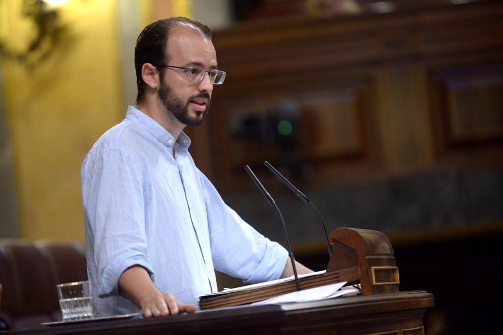 Jorge Luis, reelegido por Equo para presentarse en las próximas elecciones generales del 28-A