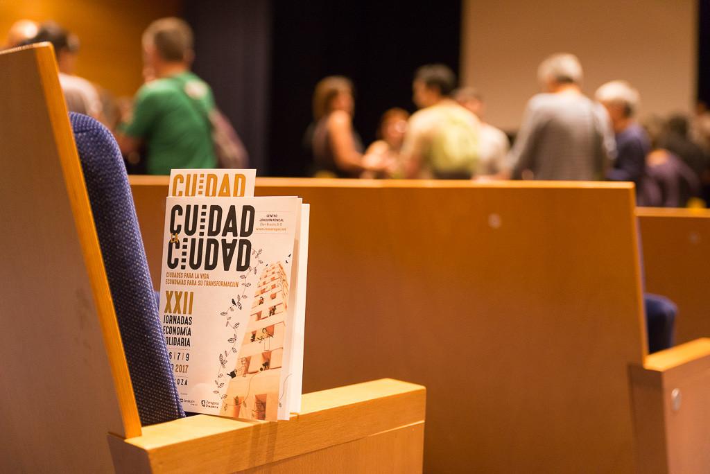 Comienzan en Zaragoza las XXII Jornadas de Economía Solidaria de REAS Aragón, bajo el lema 'Cuidad la Ciudad'