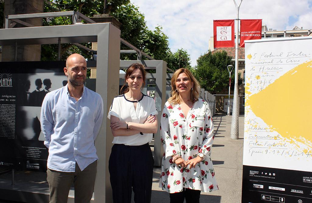 La exposición 'Platea. Los fotógrafos miran al cine' reúne a 40 artistas en el marco del Festival Internacional de Cine de Uesca
