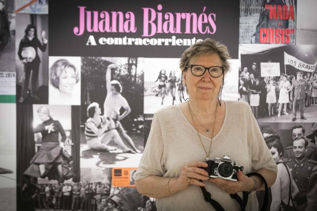 La Lonja acoge una exposición dedicada a la fotorreportera Juana Biarnés