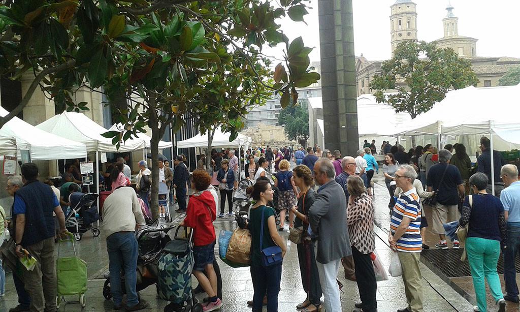 Zaragoza celebra el VIII Aniversario del Mercado Agroecológico en el Día Mundial de Medio Ambiente