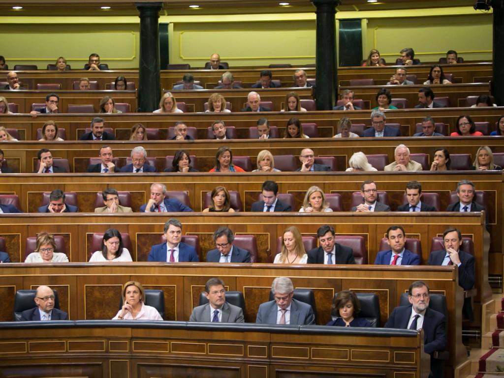 La corrupción del Partido Popular protagoniza la primera jornada del debate de la moción de censura