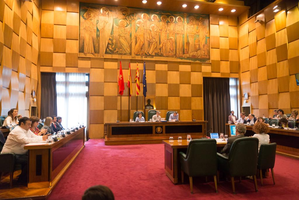 ZeC, CHA y PSOE aprueban los presupuestos municipales para 2018