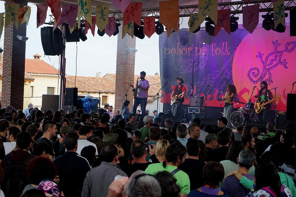 El solsticio de verano llega con el Festival Poborina Folk