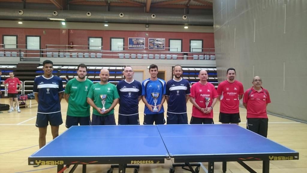 Dominio del CN Helios en el Campeonato de Aragón de Equipos Absolutos de Tenis de Mesa