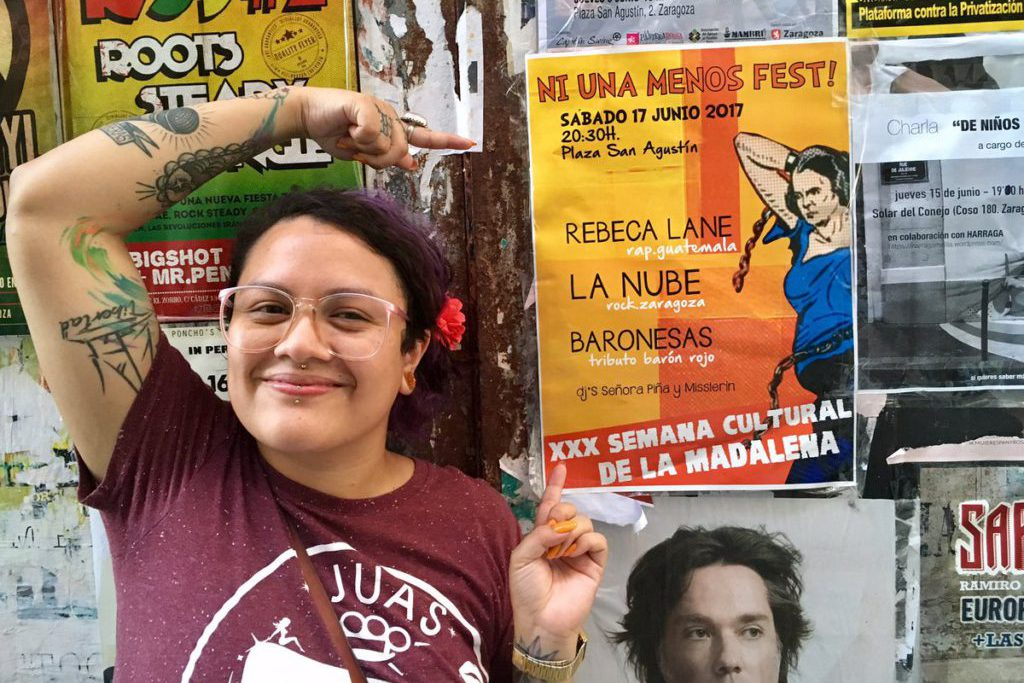 'Ni una menos fest' vuelve a las fiestas de La Madalena con la guatemalteca Rebeca Lane como invitada