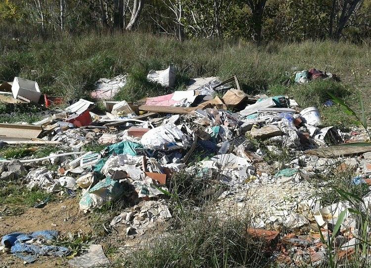 """IU exige al Gobierno de Aragón la limpieza """"inmediata"""" de un vertedero ilegal en la carretera que une Massalcoreig y Fraga"""