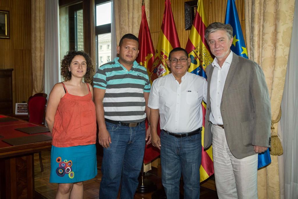 Zaragoza estrecha sus lazos culturales con la ciudad nicaragüense de León
