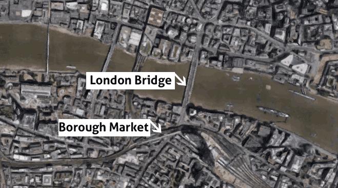 Al menos siete personas muertas y 48 heridas en el segundo ataque en Inglaterra en menos de 15 días