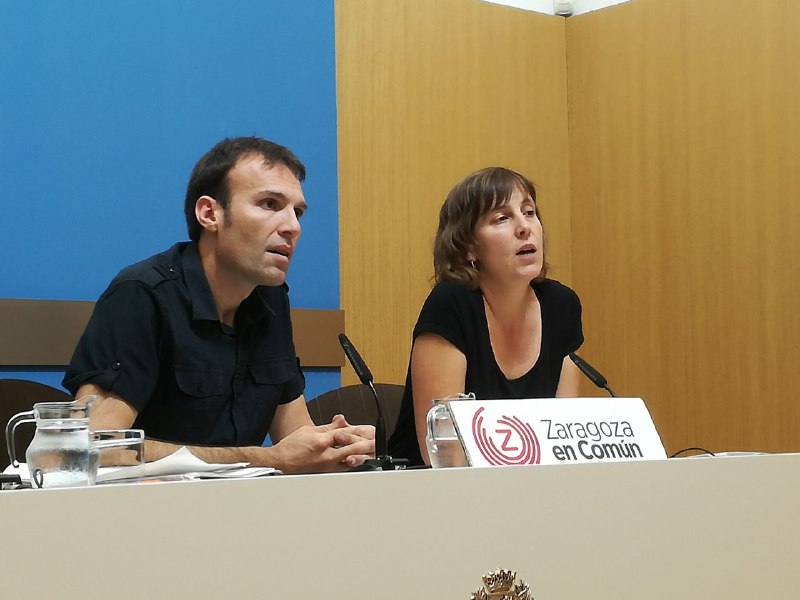Zaragoza en Común lleva al Pleno Municipal la gestión del agua y el decálogo para una nueva Ecociudad