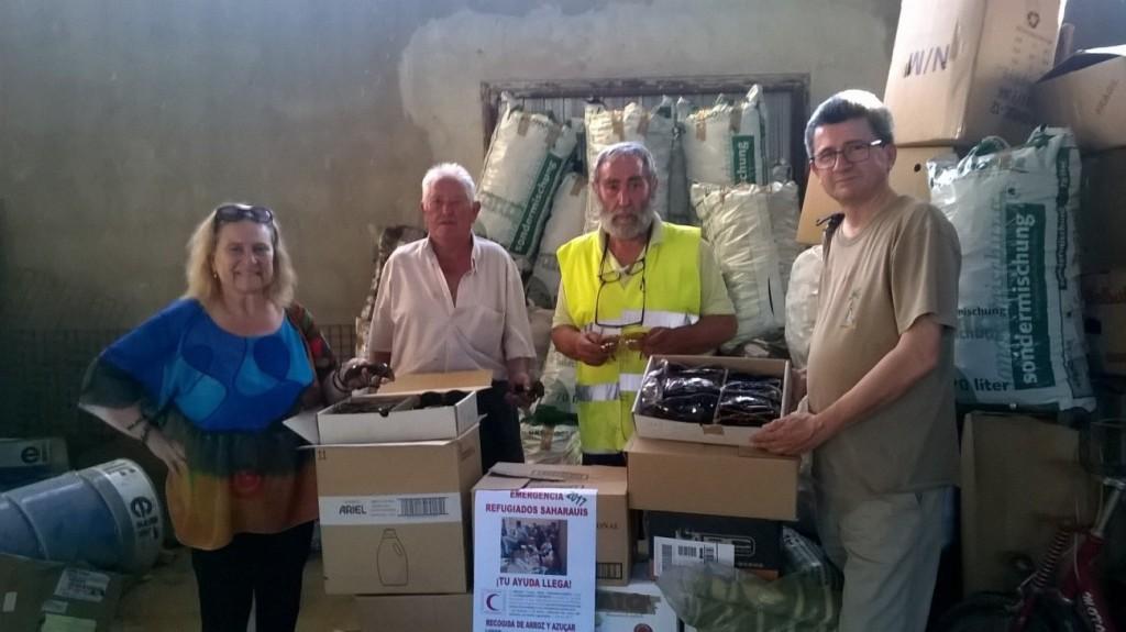 Morata de Xalón y la Comarca recogen arroz y azúcar para los refugiados saharauis