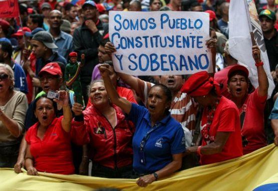 El pueblo de Venezuela vota a favor de la Asamblea Nacional Constituyente impulsada por Maduro