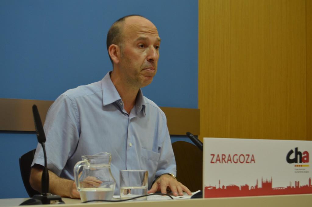 CHAno entrará en el Pleno si no se incluye la subrogación de Zaragoza Arroba en el orden del día