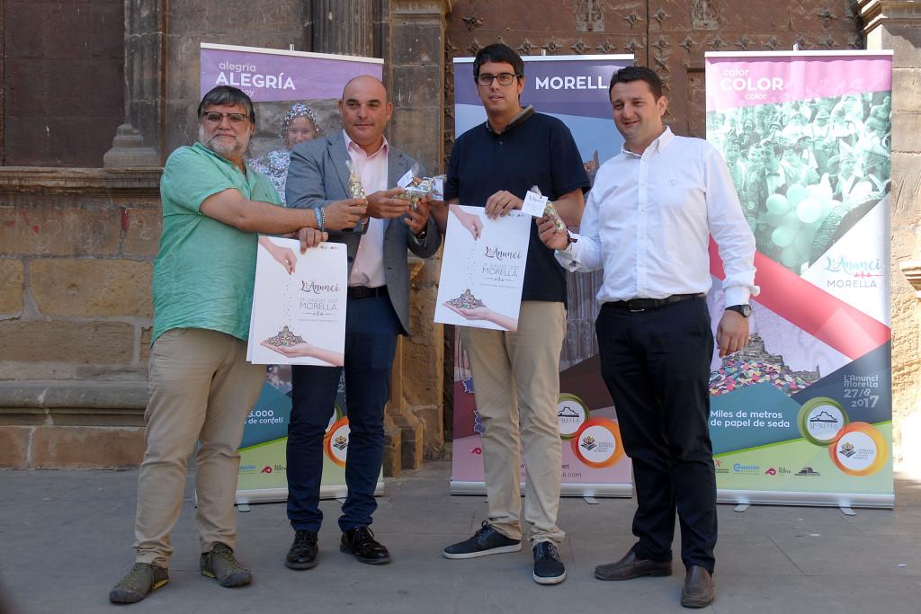 Morella ha presentado en Alcanyiz su fiesta de interés turístico de l'Anunci