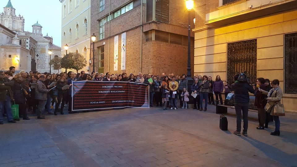La Coordinadora de Organizaciones Feministas de Teruel muestra su repulsa al último caso de agresión sexual