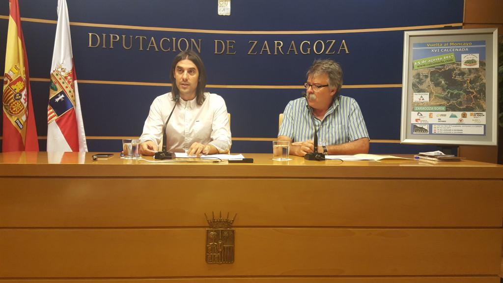 Deportistas de todo el Estado volverán a dar la vuelta al Moncayo en una nueva edición de la Calcenada