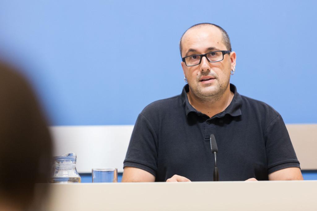 Alberto Cubero responde con una carta al Presidente del Tribunal Superior de Justicia de Aragón