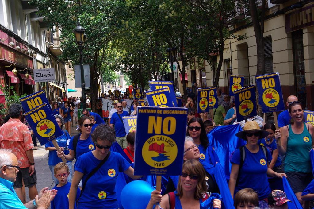 PSOE, PP y PAR continúan apostando por el embalse de Biscarrués