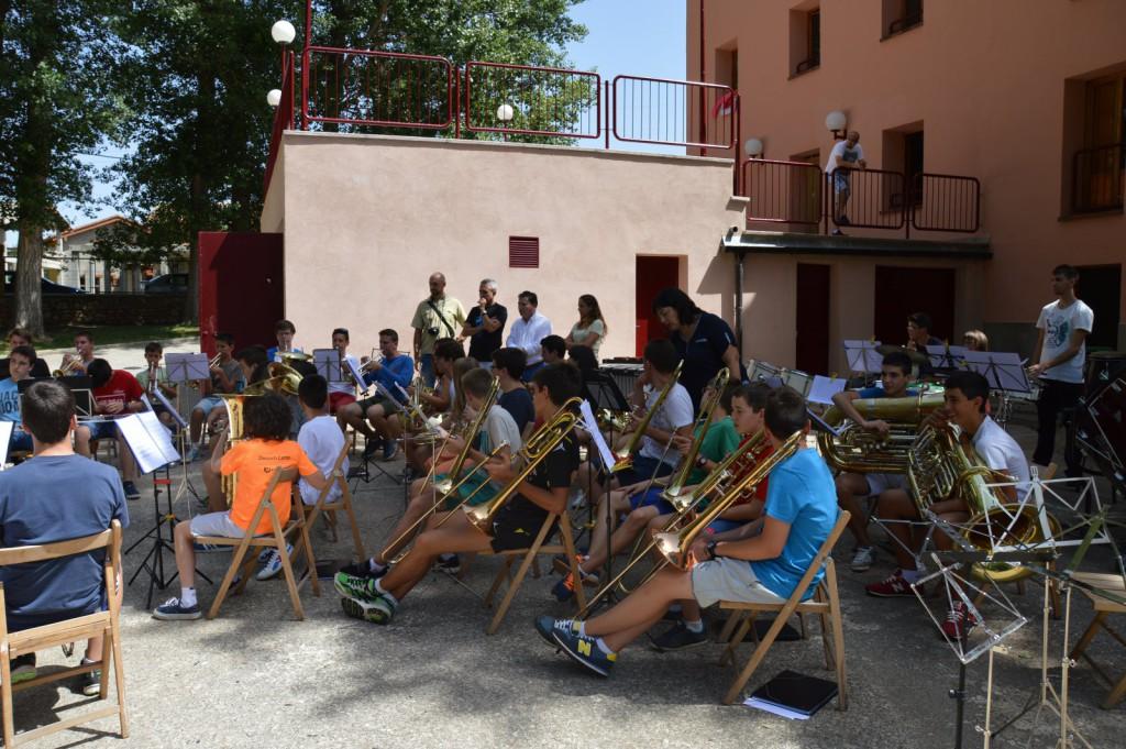 El XXVIII Campamento de Músicos Juveniles reúne a 90 jóvenes músicos este año