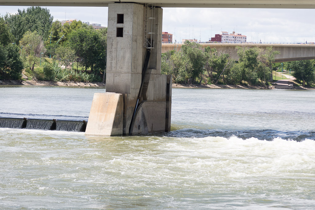 Los ríos urbanos y el azud del Ebro serán objeto de debate en una jornada en el Joaquín Roncal