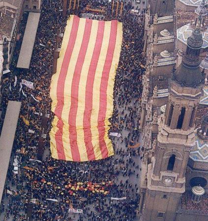 BanderaAragónElPilar-423x450
