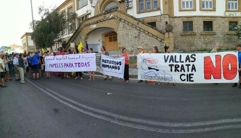 El Frente Cívico Somos Mayoría organiza una charla en Exeya para dar testimonio de su viaje reivindicativo a Melilla