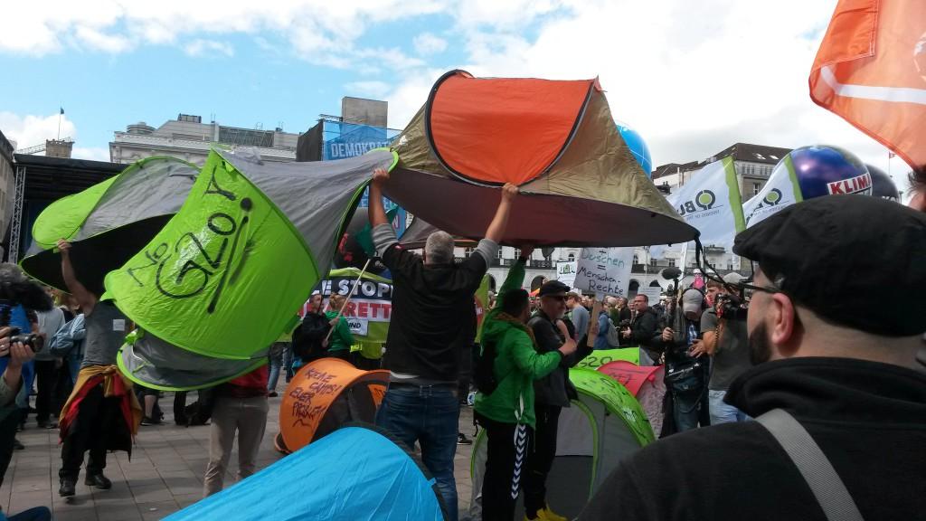La plataforma #NoG20 continúa adelante con las movilizaciones anticapitalistas de Hamburgo