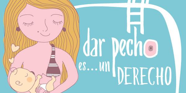 'Dar el pecho es un derecho', campaña para concienciar sobre la naturalidad de la lactancia materna en cualquier espacio público