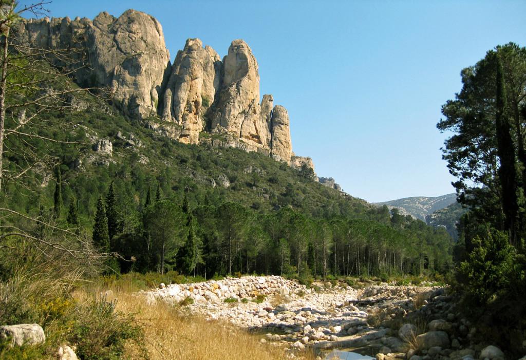 La parte tarraconense del Parque Natural de Els Ports recupera ocho euros por cada uno que invierte