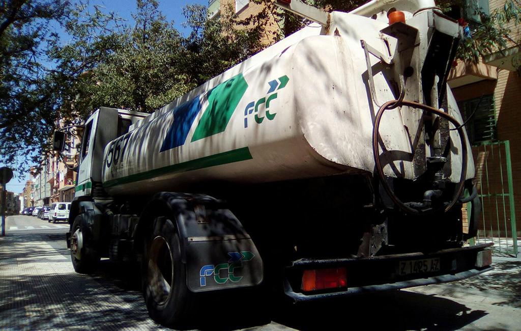 FCC 'ahorra' 500.000€ incumpliendo la renovación de vehículos para los Parques de Zaragoza