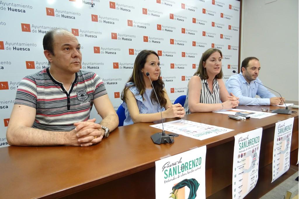 El Ayuntamiento presenta junto a las Peñas Recreativas oscenses su programación para las Fiestas de San Lorenzo