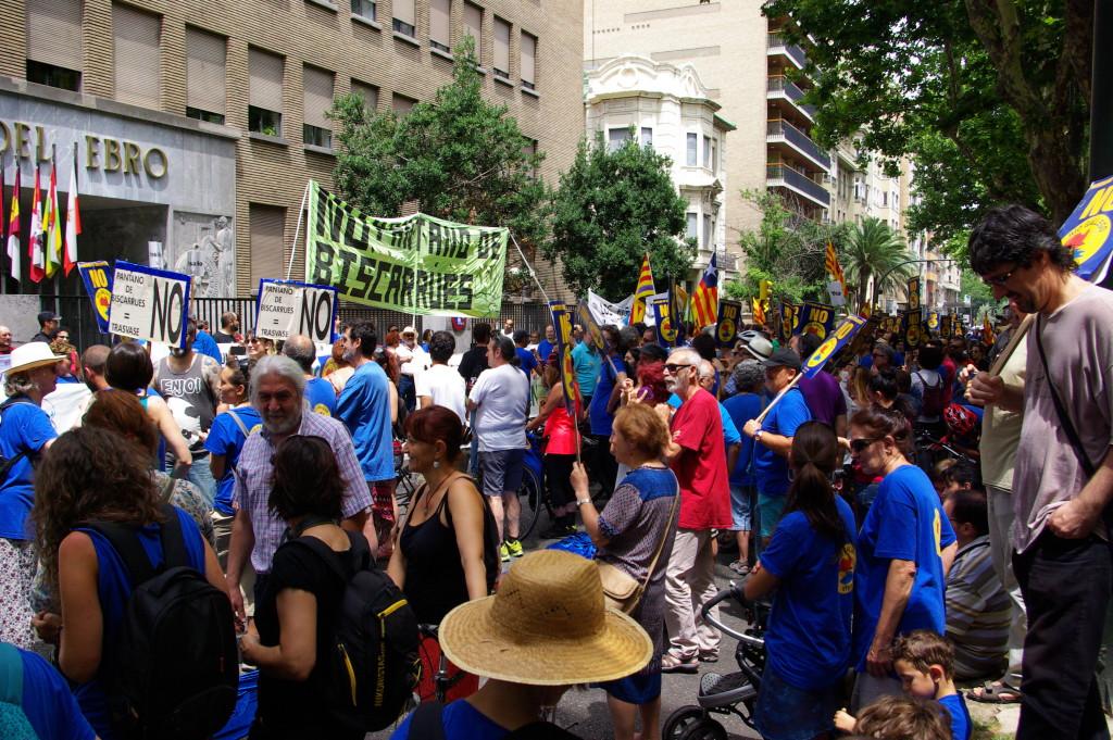 """EQUO y CHA reclaman al Gobierno español que descarte """"definitivamente"""" el proyecto del pantano de Biscarrués"""